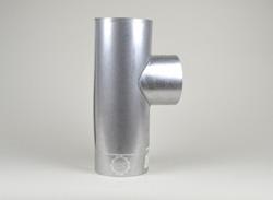 T-Stück, zylindrisch, eingezogen